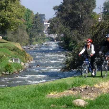 Cuenca City Bike Tour in Cuenca City , you can explore and visit Cuenca on a bike , this is a service provided by GUIDE ECUADOR TRAVEL
